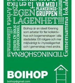 Affisch/flyer för Boihop