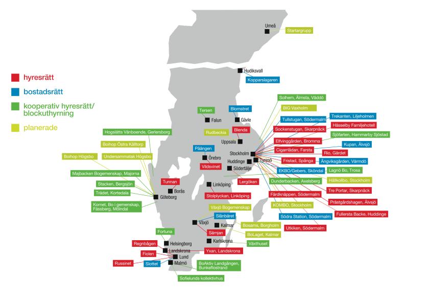 Kollektivhus i Sverige